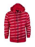 Blood In Blood Out Stripes Zipped Hoodie - L