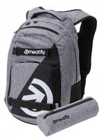 Meatfly Batoh Exile 4 A-Heather Grey, Black