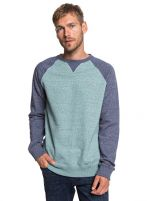 Quiksilver Pánská mikina Everyday Crew Stormy Sea Heather EQYFT03847-BLHH M