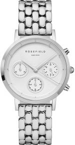 Rosefield The Chrono White Silver NWG-N92
