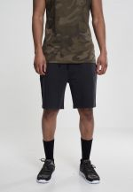 Urban Classics Acid Wash Shorts black - S
